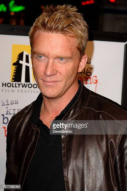 Anthony Michael Hall during 9th Annual Hollywood Film Festival Opening Night Screening of Kiss Kiss Bang Bang Arrivals at Grauman's Chinese Theatre...