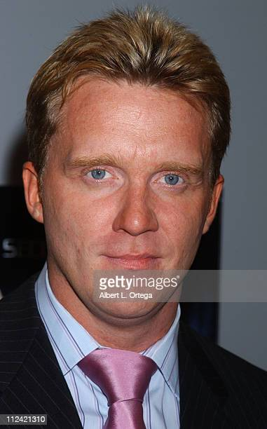Anthony Michael Hall during Signing of The Dead Zone Season 2 at Best Buy LaBrea in West Hollywood CA United States