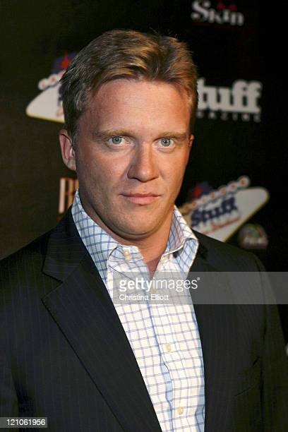 Anthony Michael Hall during Stuff Magazine 'Casino Weekend' at the Palms Hotel at Palms in Las Vegas Nevada United States