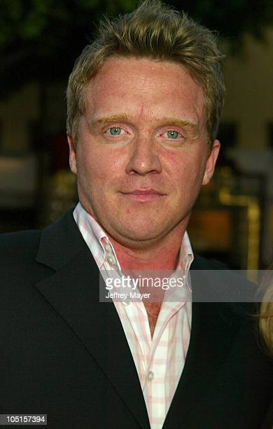 Anthony Michael Hall during SWAT Premiere at Mann Village Theatre in Westwood California United States