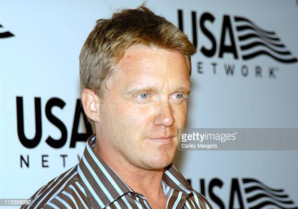 Anthony Michael Hall during USA Network Celebrates the Opening of the 2004 US Open at ACES Restaurant at Arthur Ashe Stadium in New York City New...