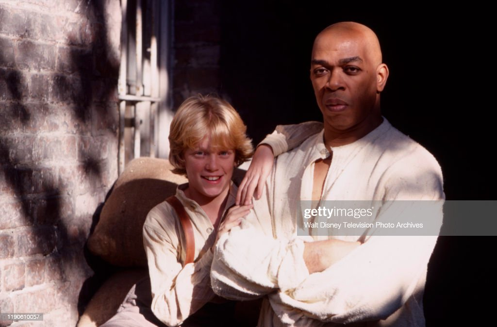 Anthony Michael Hall, Geoffrey Holder Appearing In 'The Gold Bug' : News Photo