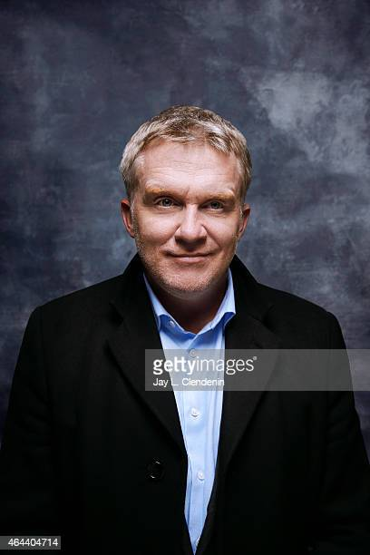 Anthony Michael Hall is photographed for Los Angeles Times at the 2015 Sundance Film Festival on January 24 2015 in Park City Utah PUBLISHED IMAGE...