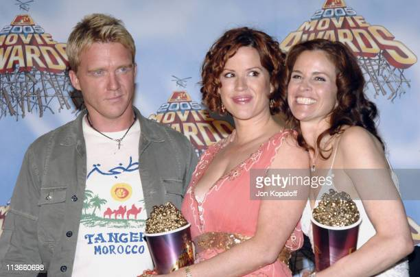 Anthony Michael Hall Molly Ringwald and Ally Sheedy