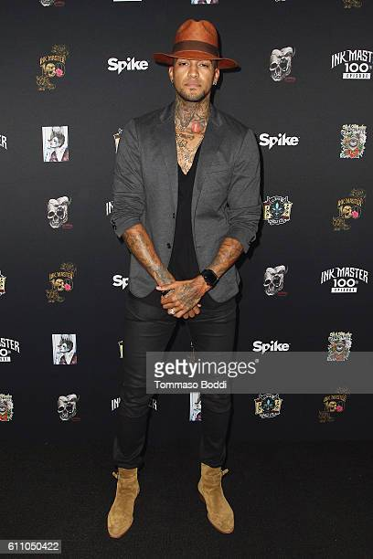 Anthony Michaels attends the 100th Episode Party For 'Ink Master' at NeueHouse Hollywood on September 28 2016 in Los Angeles California
