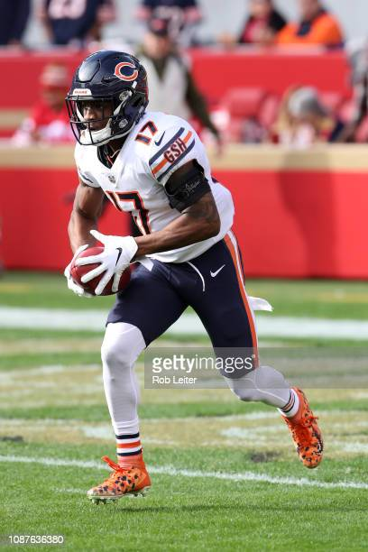 Anthony Miller of the Chicago Bears in action during the game against the San Francisco 49ers at Levi Stadium on December 23 2018 in Santa Clara CA...