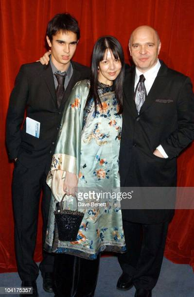 Anthony Mingella With His Wife Son 'Cold Mountain' Premiere After Party At The Floral Hall In The Royal Opera House Covent Garden London