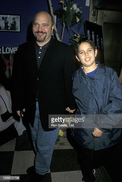 Anthony Minghella and son during 'Cop Land' New York City Premiere at Ziegfeld Theater in New York City New York United States