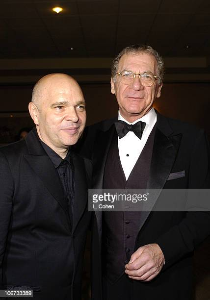 Anthony Minghella and Sydney Pollack during The 15th Annual Producers Guild Awards Red Carpet at Century Plaza Hotel in Los Angeles Ca United States