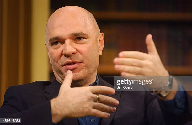 Anthony Minghella appearing on the Breakfast with Frost programme