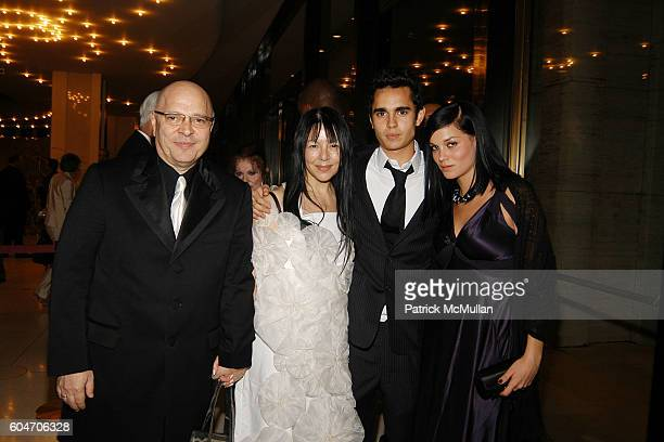 Anthony Minghella Carolyn Choa Max Minghella and Leigh Lezark attend Metropolitan Opera Opening Night Dinner at Lincoln Center on September 25 2006...