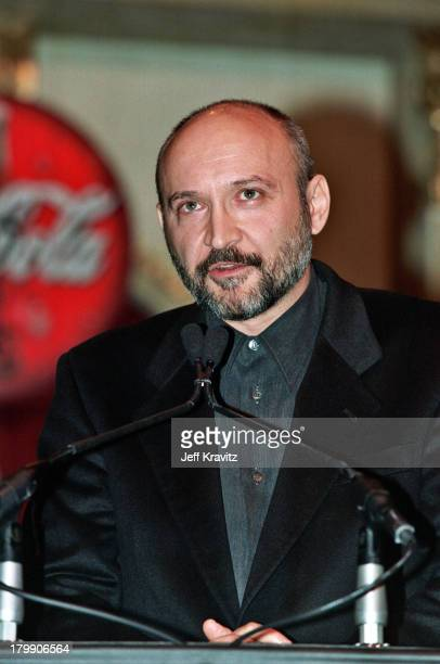 Anthony Minghella during 2000 NATO/Showest Convention at Paris Hotel in Las Vegas Nevada United States