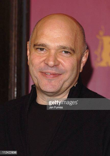 Anthony Minghella during 2004 Berlin Film Festival 'Cold Mountain' Photocall at Hyat Hotel in Berlin Germany