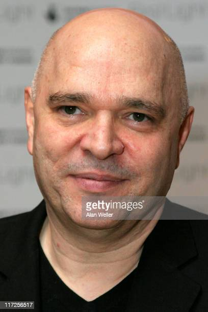 Anthony Minghella during 2006 First Light Film Awards Press Room at Sound Leicester Square in London Great Britain
