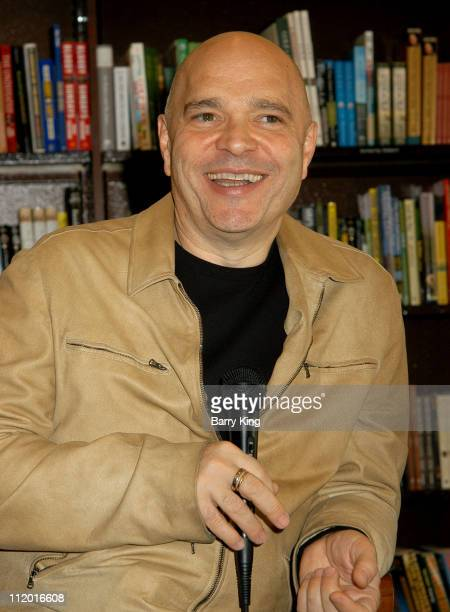 Anthony Minghella during Anthony Minghella Book Store Signing for 'Cold Mountain' at Barnes Noble at the Grove in Los Angeles California United States