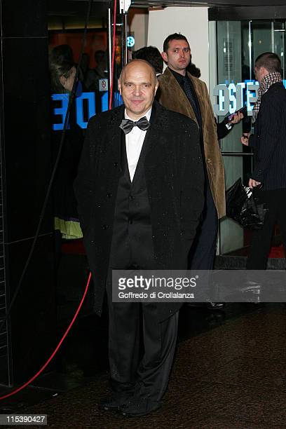 Anthony Minghella during The Times BFI 49th London Film Festival 'The Constant Gardener' Premiere at The Odeon Leicester Square in London Great...