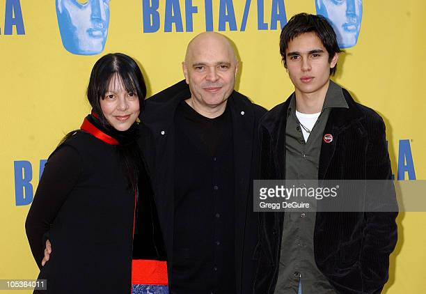 Anthony Minghella wife Caroline and son Max during 10th Annual BAFTA/LA Tea Party at St Regis Hotel in Century City California United States
