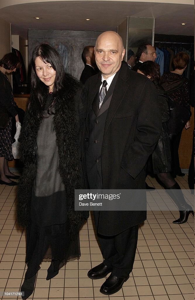 Anthony Minghella With His Wife, Sylvia Movie After Party At Mezzo In Wardour Street, London