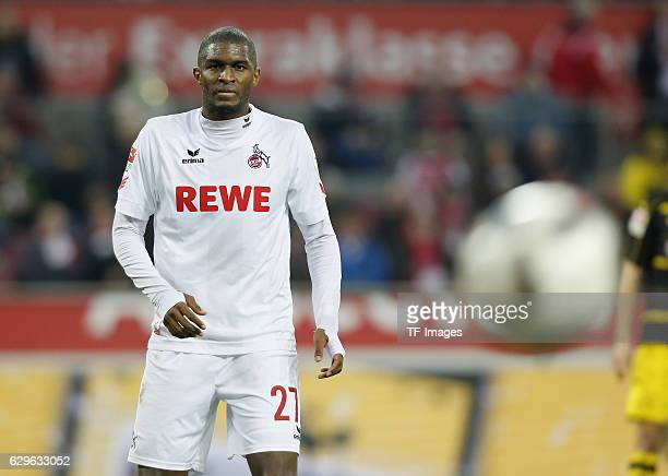 Anthony Modeste of Cologne looks on during the Bundesliga match between 1. FC Cologne and Borussia Dortmund at the RheinEnergie stadium in Cologne,...