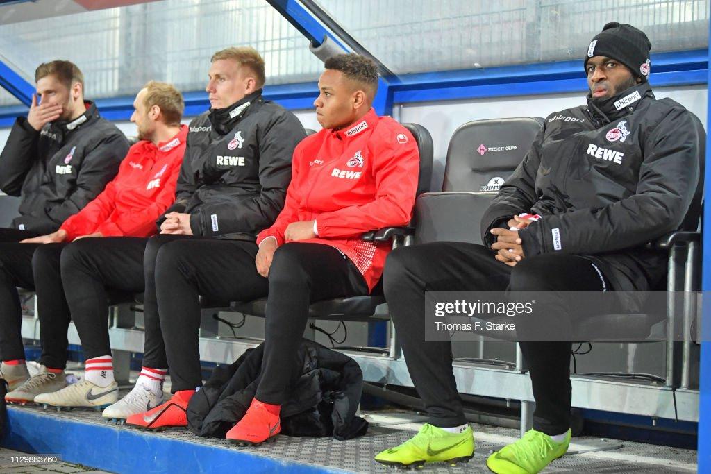DEU: SC Paderborn 07 v 1. FC Koeln - Second Bundesliga