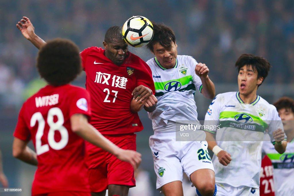 Tianjin Quanjian v Jeonbuk Hyundai Motors - AFC Champions League Group E