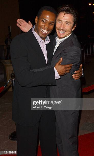 Anthony Montgomery and Dominic Keating during The Jules Verne Adventure Film Festival and Expositions Arrivals at The Shrine Auditorium in Los...