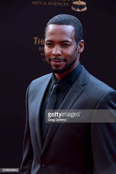 Anthony Montgomery arrives at The National Academy of Television Arts Sciences Daytime Emmmy's held at the Westin Bonaventure Hotel on April 29 2016...