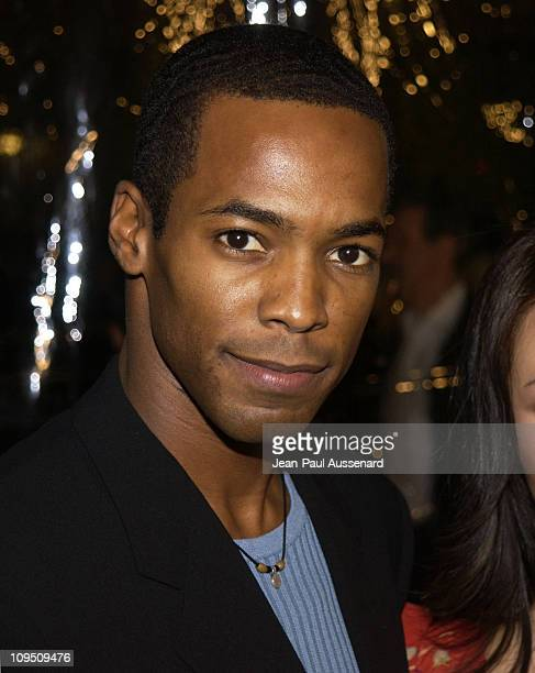 Anthony Montgomery during 'Antwone Fisher' Premiere Beverly Hills at Academy of Motion Picture Arts Sciences in Beverly Hills California United States