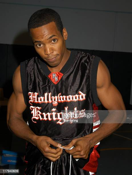 Anthony Montgomery during Hollywood Knights Charity Basketball Game at Walnut High School in Walnut California United States