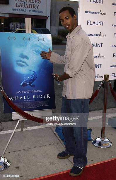 Anthony Montgomery during 'Whale Rider' Los Angeles Premiere at Showcase Theater in Los Angeles California United States