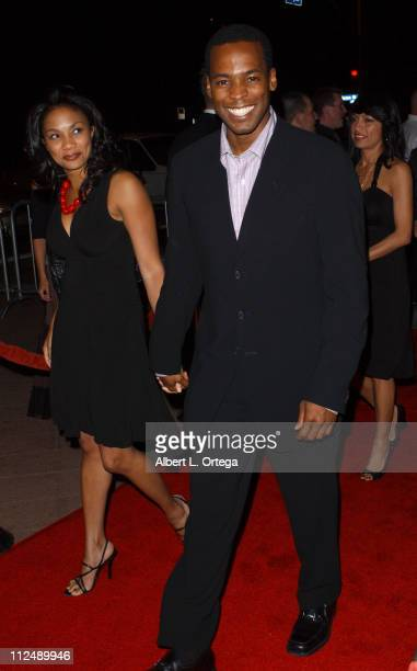 Anthony Montgomery with guest during The Jules Verne Adventure Film Festival and Expositions Arrivals at The Shrine Auditorium in Los Angeles...