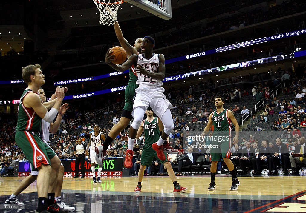 Milwaukee Bucks v New Jersey Nets