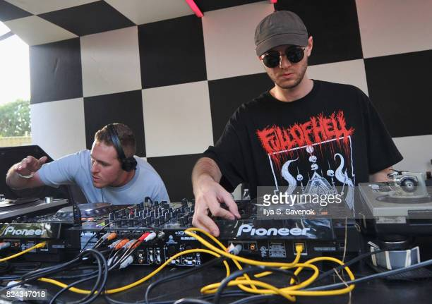 Anthony Naples and Huerco S performs on The Points stage during the 2017 Panorama Music Festival Day 2 at Randall's Island on July 29 2017 in New...