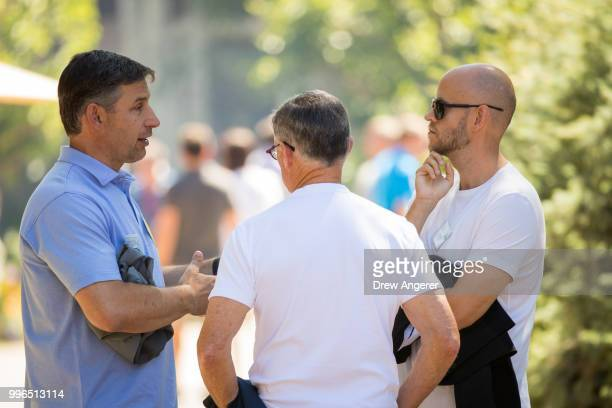 Anthony Noto chief executive officer of SoFI and former chief operating officer at Twitter Barry McCarthy chief financial officer at Spotify Daniel...