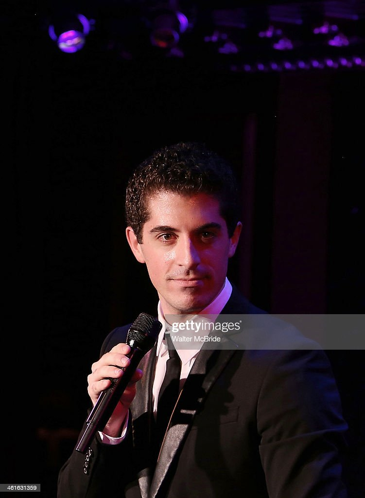 Anthony Nunziata Performs 'Broadway, Our Way' at 54 Below on January 9, 2014 in New York City.
