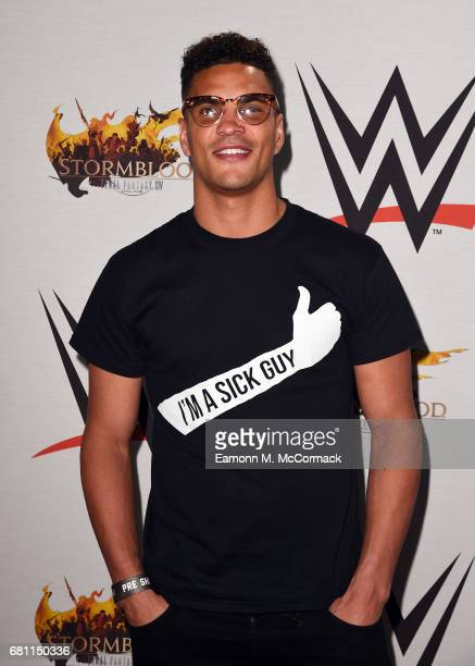 Anthony Ogogo attends the WWE SmackDown live show at The O2 Arena on May 9 2017 in London England