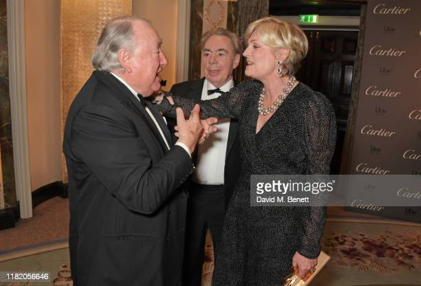 Anthony Oppenheimer Lord Andrew Lloyd Webber and Lady Madeleine Lloyd Webber attend The 29th Cartier Racing Awards at The Dorchester on November 12...