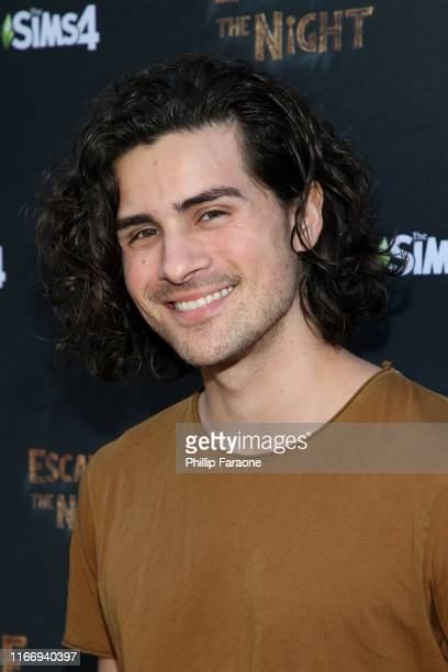 Anthony Padilla attends Joey Graceffa's YouTube Original Series Escape The Night VIP Escape Room Experience at UTA on August 08 2019 in Beverly Hills...