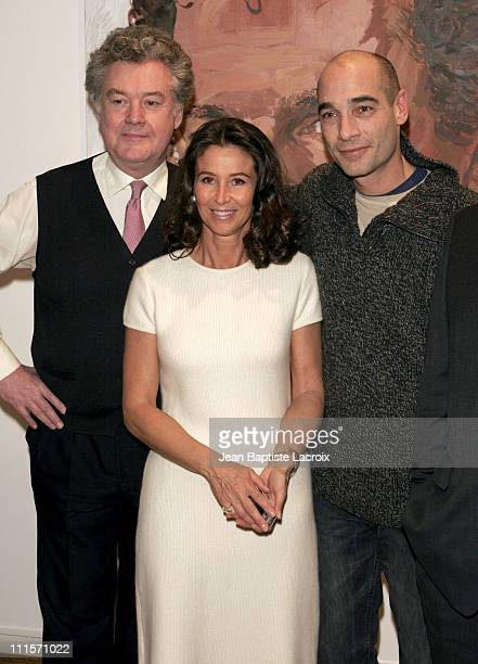 Anthony Palliser Corinne Ricard and Jean Marc Barr