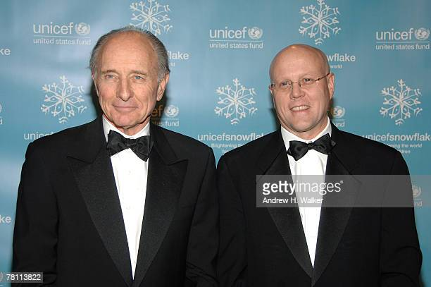 Anthony Pantaleoni and Charles Ryan attend the UNICEF 2007 Snowflake Ball presented by Baccarat at Cipriani on November 27 2007 in New York City
