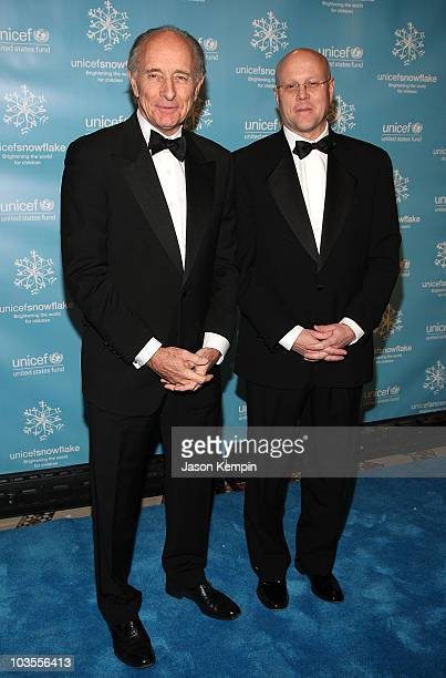 Anthony Pantaleoni and Chip Lyons arrives to the 2007 UNICEF Snowflake Ball at Cipriani 42nd Street on November 27 2007 in New York City