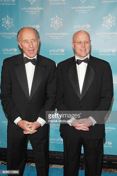 Anthony Pantaleoni and Chip Lyons attend UNICEF 2007 SNOWFLAKE BALL presented by BACCARAT at Cipriani 42nd St NYC on November 27 2007