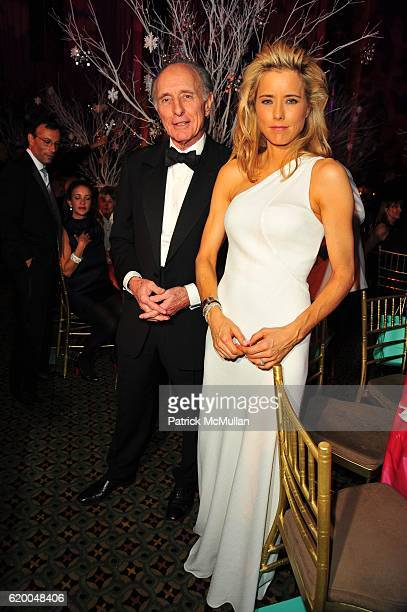 Anthony Pantaleoni and Tea Leoni attend UNICEF 2008 SNOWFLAKE BALL at Cipriani 42nd NYC on December 3 2008