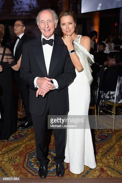 Anthony Pantaleoni and UNICEF Ambassador Tea Leoni attend 11th Annual UNICEF Snowflake Ball Honoring Orlando Bloom Mindy Grossman And Edward G Lloyd...