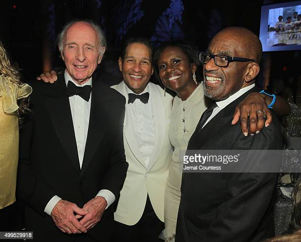 Anthony Pantaleoni Bryant Gumbel Deborah Roberts and Al Roker attend the 11th Annual UNICEF Snowflake Ball Honoring Orlando Bloom Mindy Grossman And...