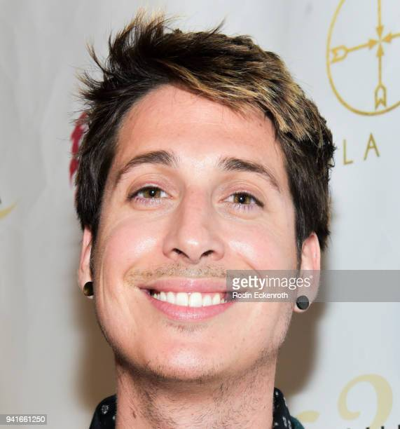Anthony Pazos attends Regard Magazine Spring 2018 Cover Unveiling Party presented by Sony Studios featuring the cast of 'The Oath' on Crackle at...