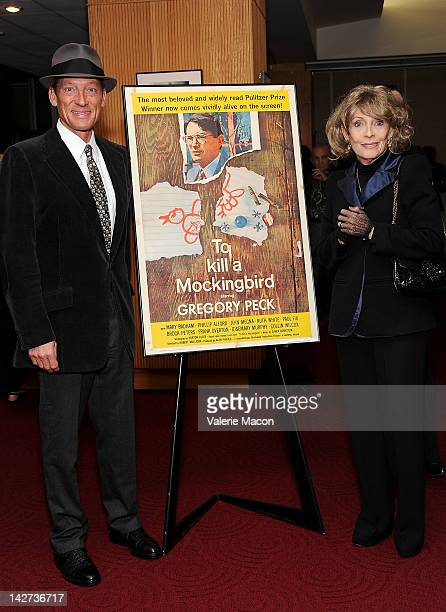 """Anthony Peck and Veronique Peck attend The Academy Of Motion Picture Arts And Sciences Presents The 50th Anniversary Screening Of """"To Kill A..."""