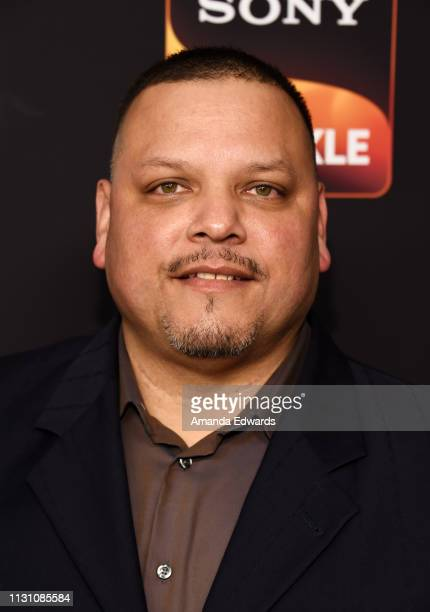 J Anthony Pena arrives at Sony Crackle's 'The Oath' Season 2 exclusive screening event at Paloma on February 20 2019 in Los Angeles California