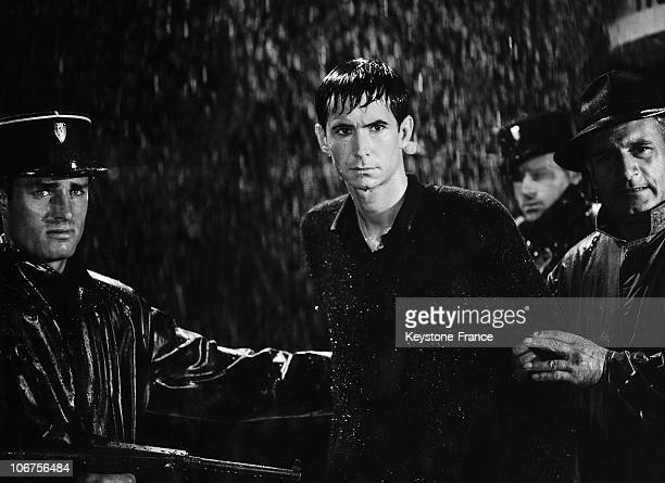 Anthony Perkins In The Film The Sword And The Balance Of Andre Cayate 1962