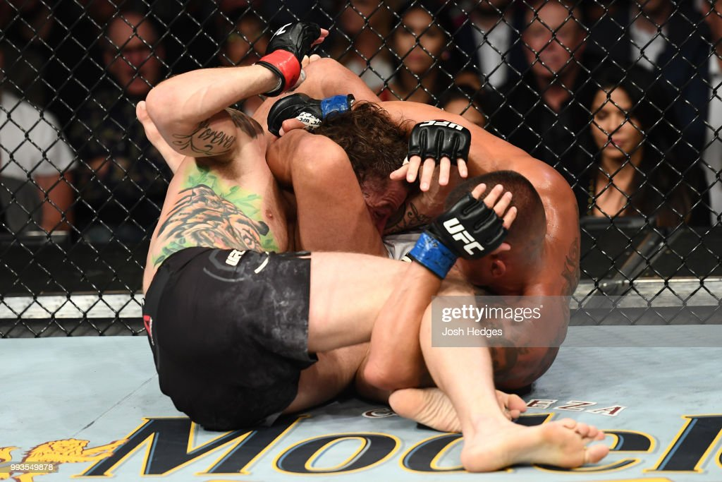 UFC 226: Chiesa v Pettis : News Photo
